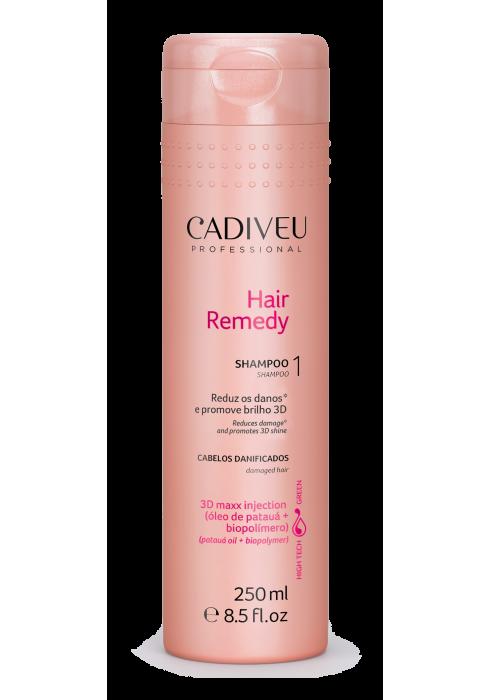 Шампунь реконструкция волос Hair Remedy Shampoo в интернет магазине Cadiveu Украина