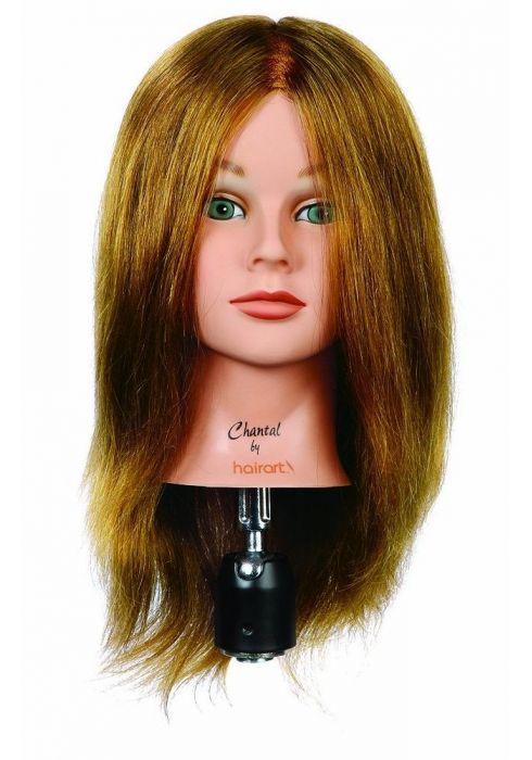 HairArt болванка с натуральными волосами
