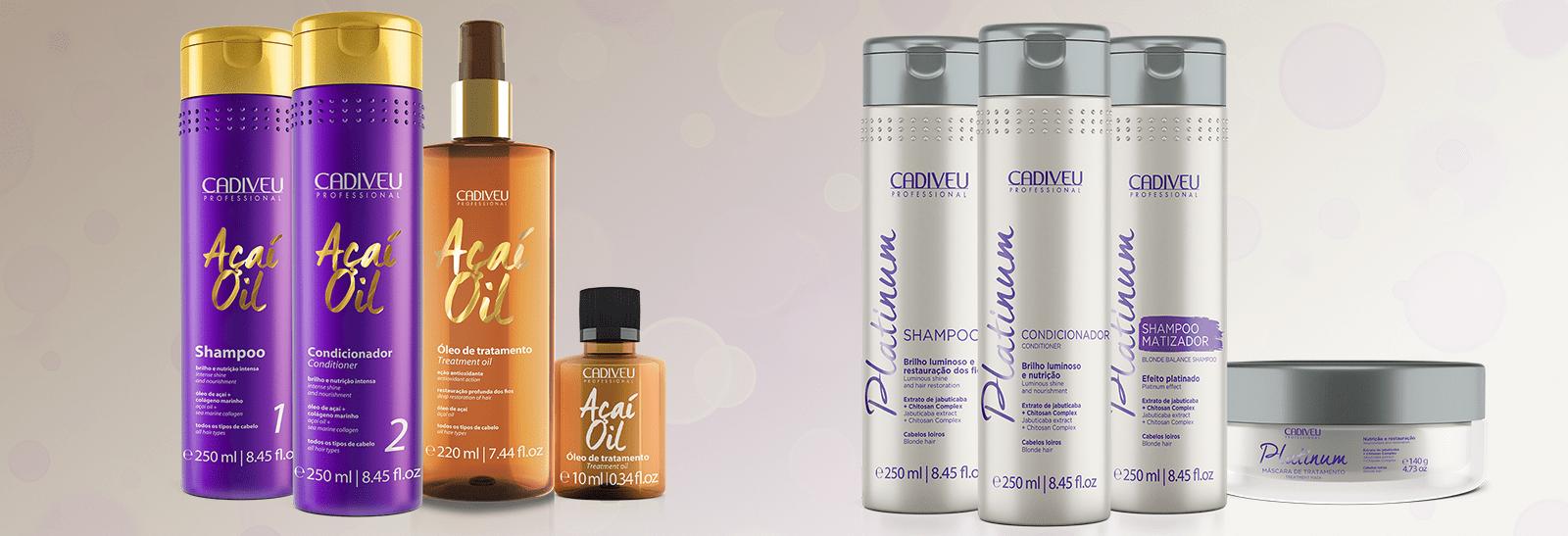 Картинка косметика и косметика для ухода за волосами бренда Cadiveu